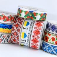 репсовая лента в Украинском стиле