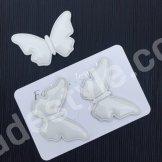 Патч бабочка. Размер 4*5 см