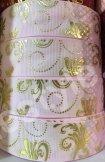 Репс с орнаментом. Ширина 2,5 см