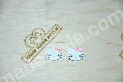 Акриловая серединка Hello Kitty