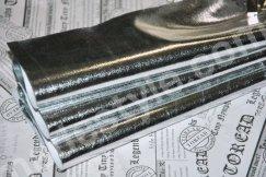 Ткань металлик серебро