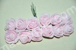 Роза из фома. Диаметр 1,5 см