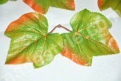 Листья  тканевые.