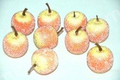 Декоративное яблочко в сахаре.
