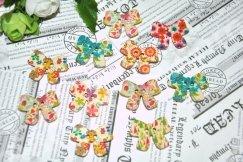 Декоративные пуговички бантик