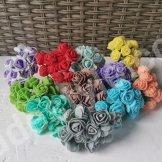 Рози із фоамірану.