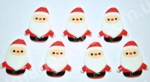 """Серединка """"Санта"""" 3,5 см * 2,8 см."""